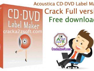 Acoustica CD-DVD Label Maker crack