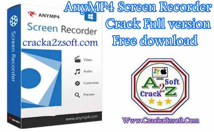 AnyMP4 Screen Recorder Crack