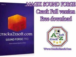 MAGIX SOUND FORGE Pro crack