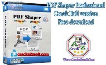 PDF Shaper Professional crack key full