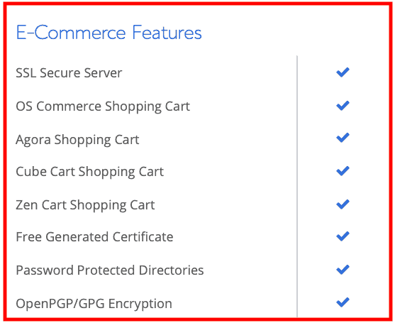 bluehost-web-hosting-review-e-commerce-features