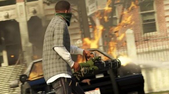 GTA 5 Download screen