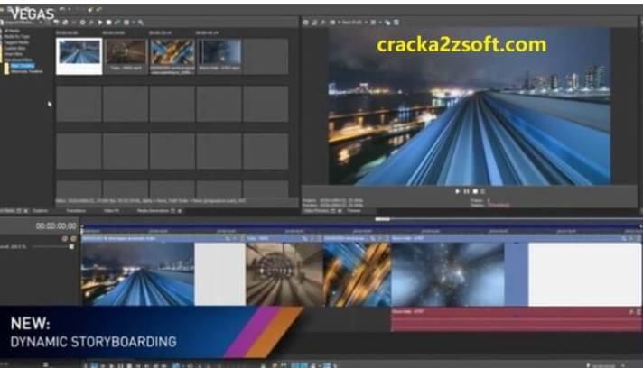 Sony Vegas Pro Crack 2021 screenshot