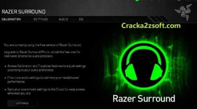Razer Surround Pro Razer Surround Pro crack 2021 activation key screenshot