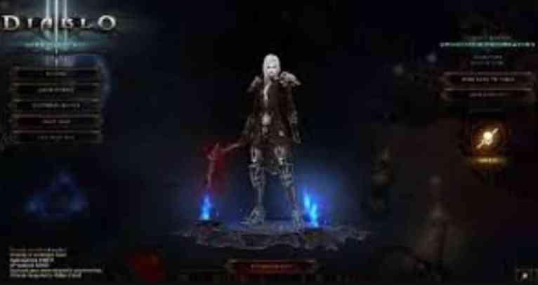 Diablo 3 Crack screen