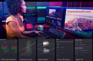 DaVinci Resolve Studio 17 screenshot