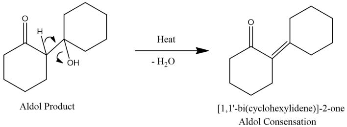 aldol condensation product of cyclohexanone