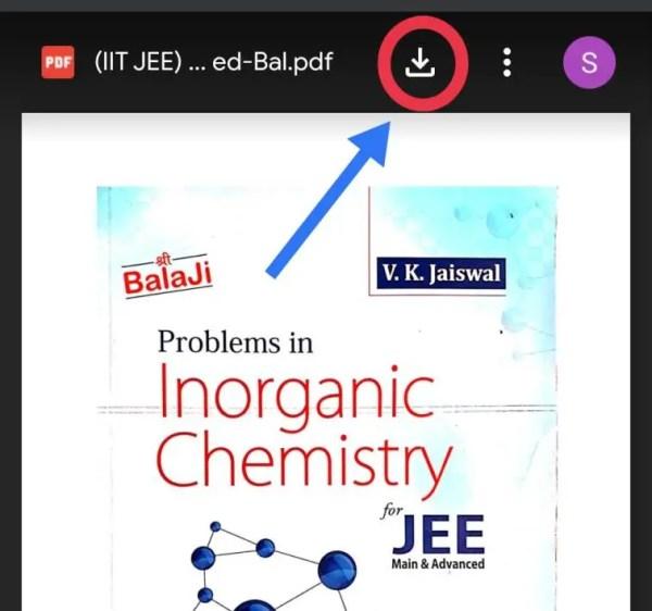 VK Jaiswal Inorganic Chemistry Pdf Download screenshot