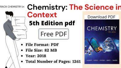 Chemistry The Science in Context 5th Edition PDF, Chemistry The Science in Context 5th Edition PDF free download