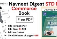 Navneet Digest STD 12 Commerce PDF free Download