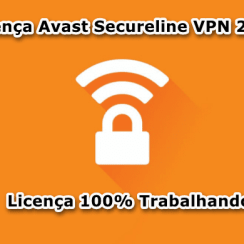 Licença Avast Secureline VPN 2019