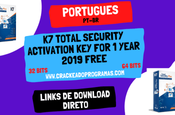 K7 Total Security Activation Key for 1 Year 2019 Free
