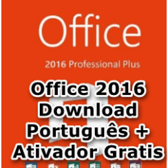 Office 2016 Download Português + Ativador Gratis