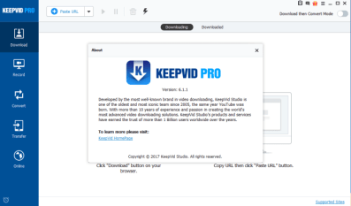 KeepVid Pro 6.3.0.7 Crack + Portable LifeTime Free Download