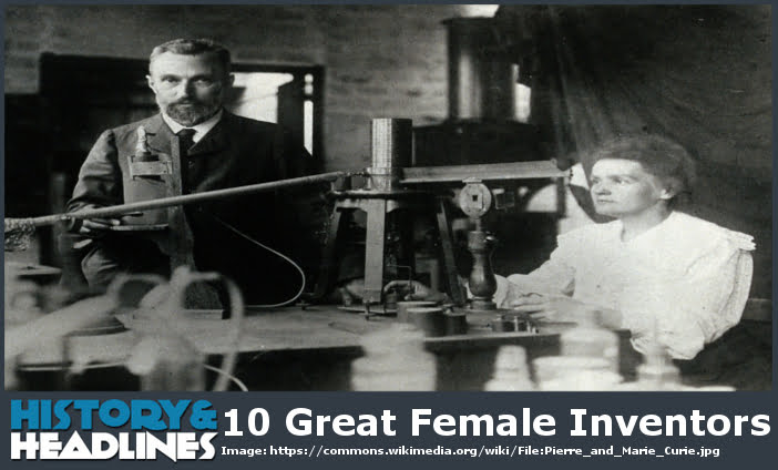 10 Great Female Inventors