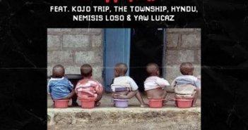 Pappy Kojo - 1 Sima ft Kojo Trip, The Township, Hyndu, Nemisis Loso & Yaw Lucaz (Prod. by Nxwrth)