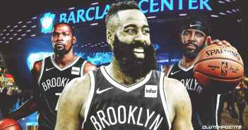 JUST IN: Houston Rockets trade James Harden to Brooklyn Nets; Kyrie Irving, Kevin Durant & James Harden