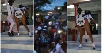 South African Slay Queen shows off her Big 'to.to' while dancing at a Party [Watch Video]