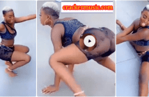 Slay Queen Showing Off Her Wild Tw£rking Skills Causes Confusion Online [Watch Video]