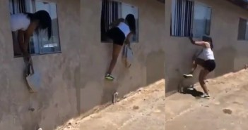 Side Chic Escapes Through Window After The Main Wife Came Home [Watch Video]