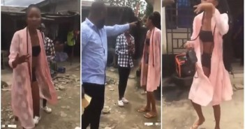Watch How This Pastor D!sgraced This Lady For Wearing This $3.xy Dress To Church [Watch Video]