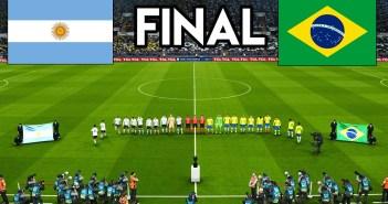 Argentina Vs Brazil [Copa America Final] WATCH Free HD Live