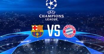 Barcelona vs Bayern Munich (UEFA Champions League) Watch Free HD