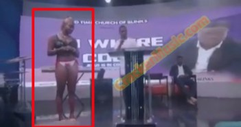 slay queen gives testimony in church