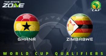 Zimbabwe vs Ghana (World Cup Qualifiers) Free HD Live Stream