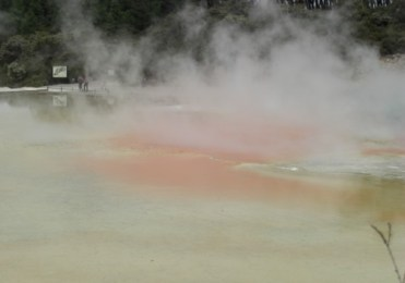 Travels New Zealand Wai-o-tapu