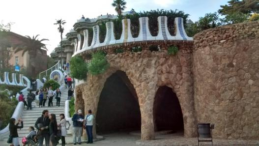 cracking retirement travels 2016 - Barcelona Park Guell