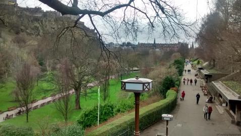 Edinburgh, Princes Street Gardens