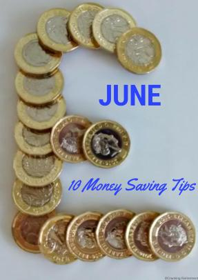 Cracking REtirement - June Money saving tips