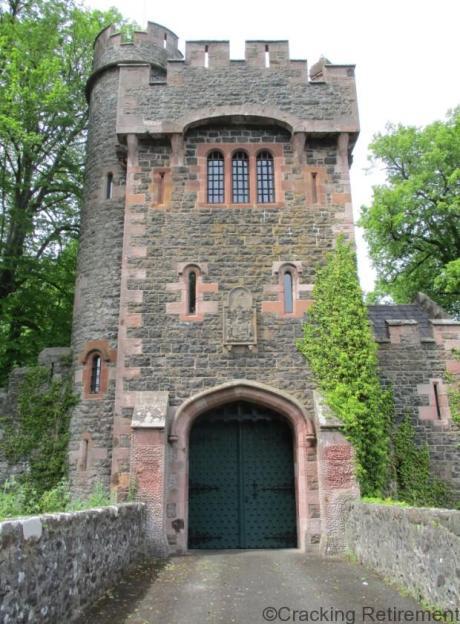 Cracking REtirement Glenarm Castle Keep