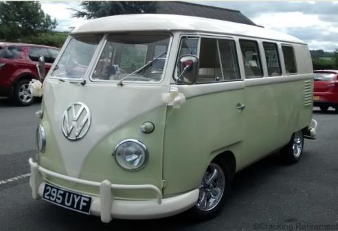 Cracking Retirement VW Van