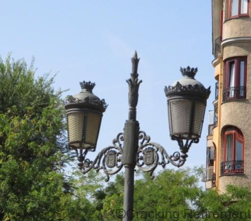 Cracking REtirement Street lights