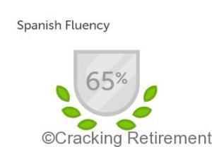 Cracking Retirement Duolingo 65