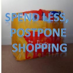 Cracking Retirement - spend less postpone shopping