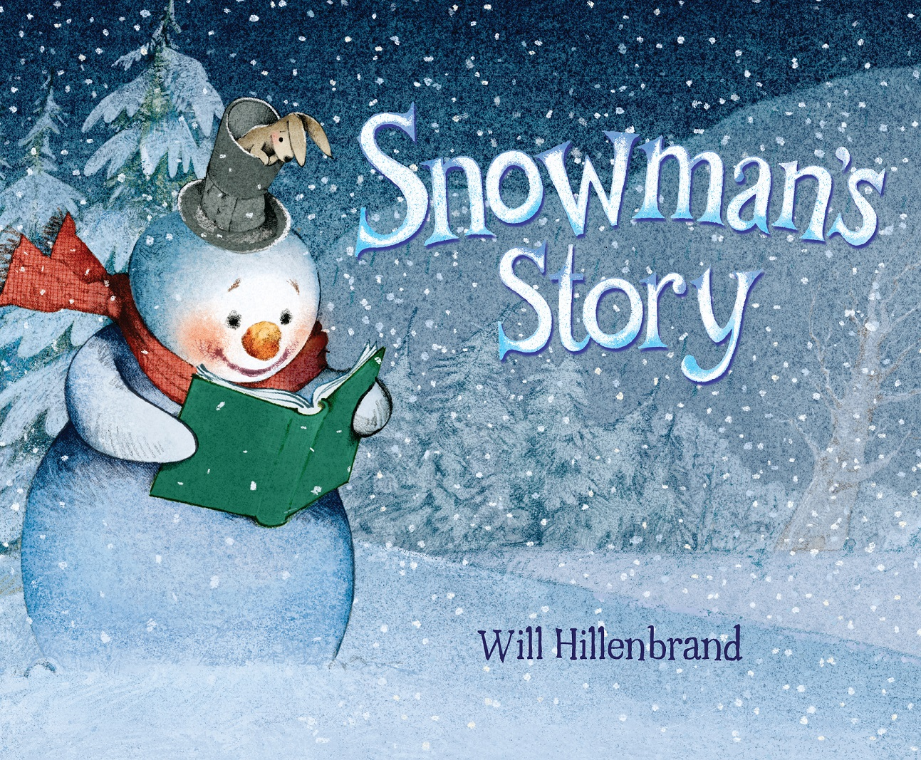Images Come First For Snowman S Story Author Will Hillenbrand