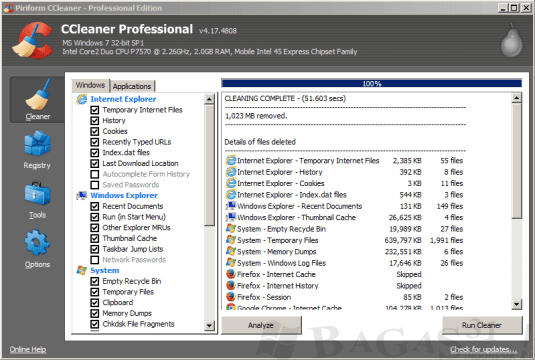 CCleaner Pro 5.19.5633- Final Crack With Serial keys Free
