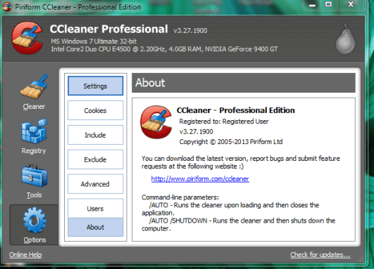 CCleaner Pro 5.19.5633- Final Crack