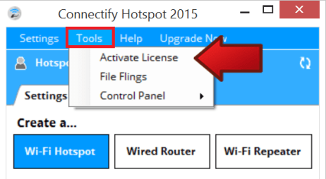 Connectify Hotspot Pro 2016 Lifetime License Key Free
