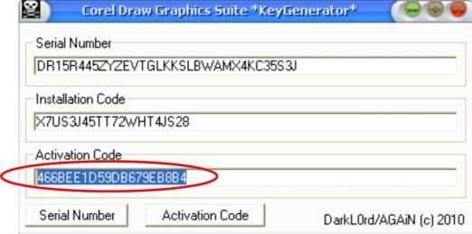 Corel Draw X5 Crack And Keygen With Full Final Codes Download