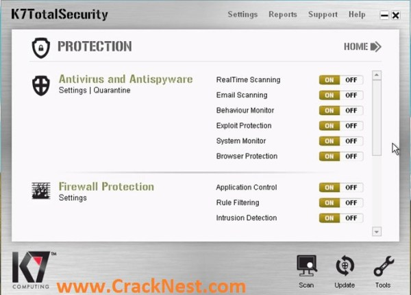 K7 Total Security Activation Key 2018 Crack