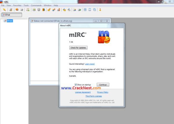mIRC Registration Code Crack