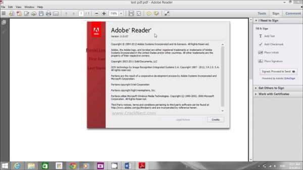 Adobe Reader Crack Free Download