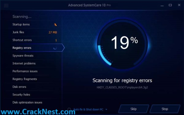 Advanced SystemCare 10 Serial Key
