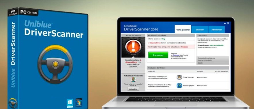 Uniblue Driver Scanner 2016 serial keys
