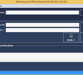 Windows & Office Genuine ISO Verifier