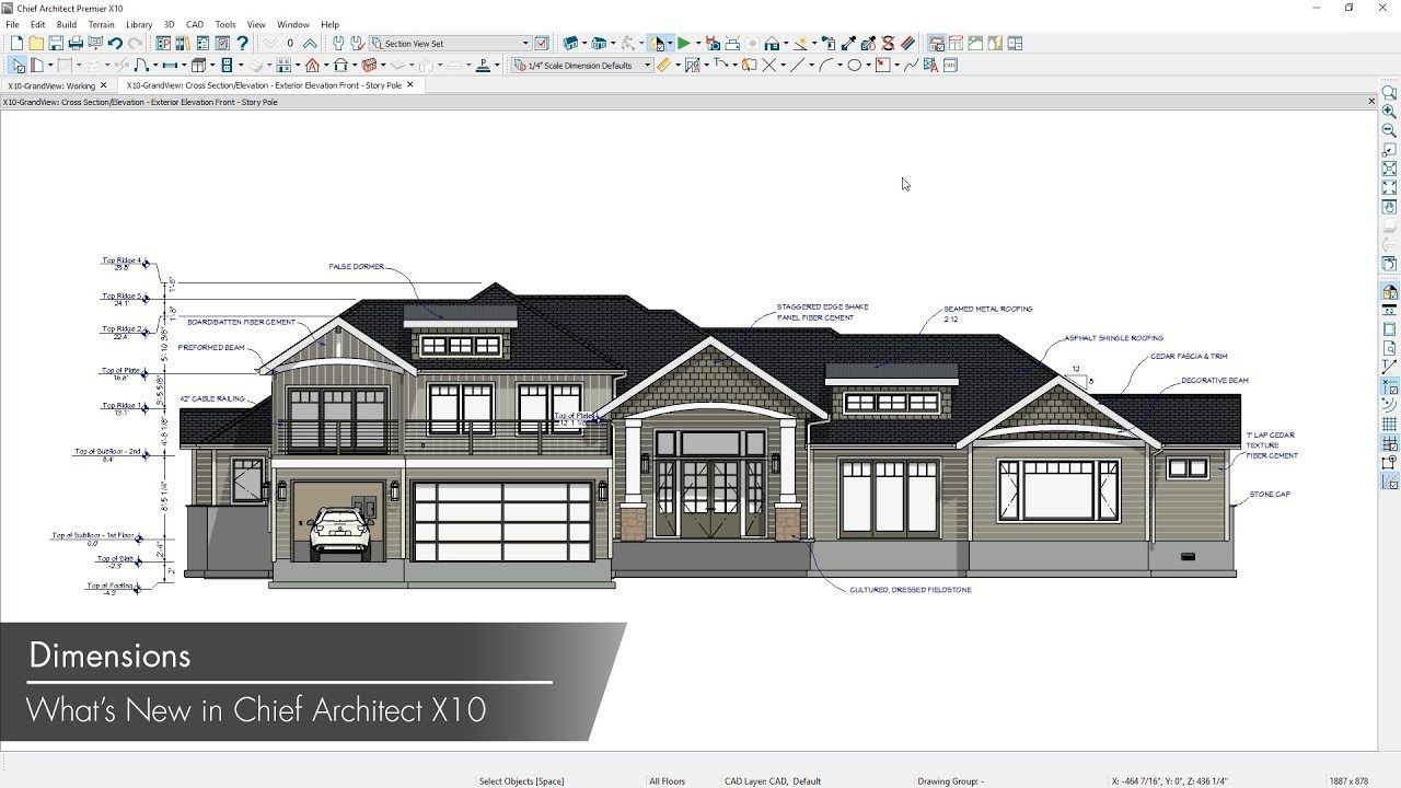 Chief Architect Premier X10 20.3.0.54 + Crack + MAC[Latest] | Cracks4Win